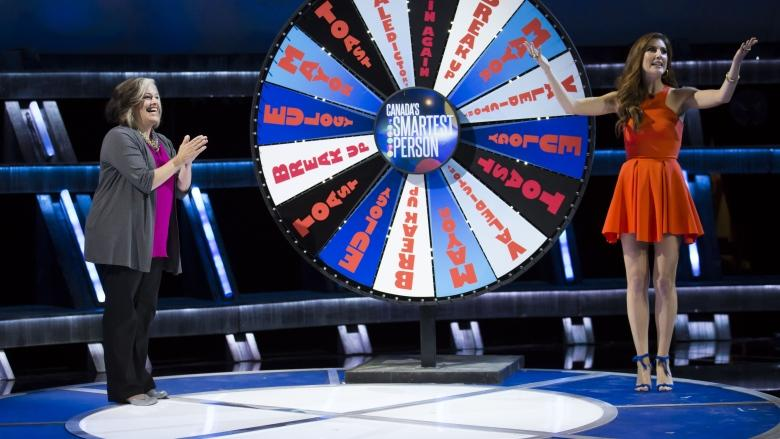 Canada's Smartest Person is 'out of control' says show's co-host