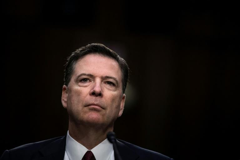 El exdirector del FBI James Comey el 8 de junio de 2017 en Washington