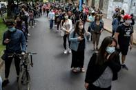 Chileans are asked two questions on the ballot: to approve or reject a new constitution, and if necessary, what kind of body should draft it -- a mixed assembly composed equally of lawmakers and citizens, or a 155-member convention of citizens