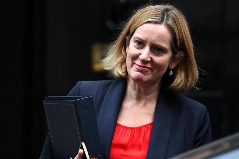 Home Secretary Amber Rudd has ordered a review into harassment outside clinics (REUTERS)
