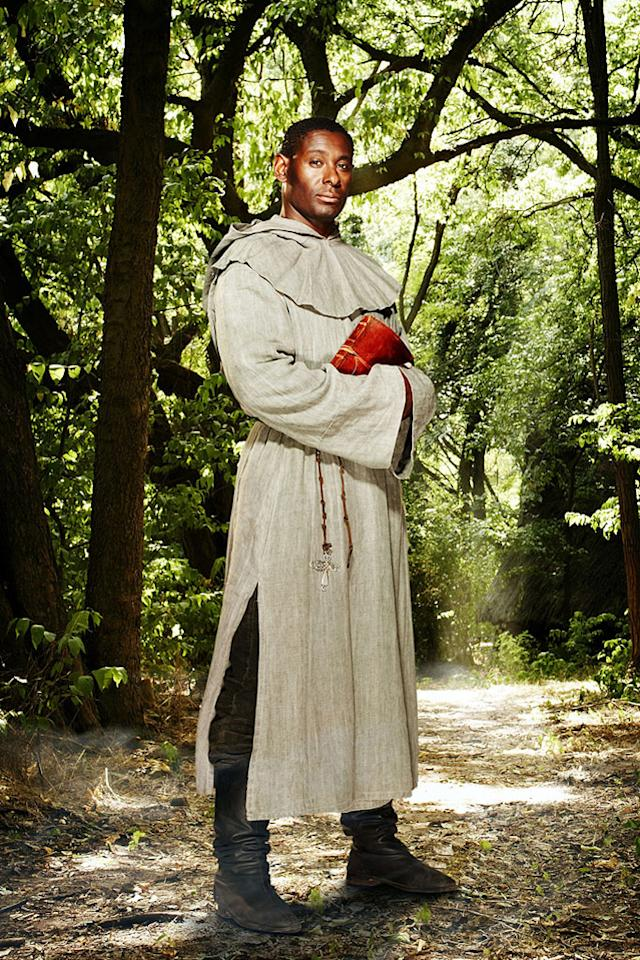 David Harewood in the BBC series Robin Hood