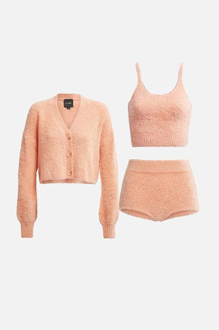 "<p>""Le Ore is Bandier's new private label made with sustainable fabrics like recycled yarn, and it speaks to my ideal active-leisure wardrobe. <span>The Modena Cozy Knit Kit</span> ($310) is all I'm interested in wearing right now - and fits Jennifer Bandier's 2014 vision for the launch of her company: a destination for active and after."" - SW</p>"