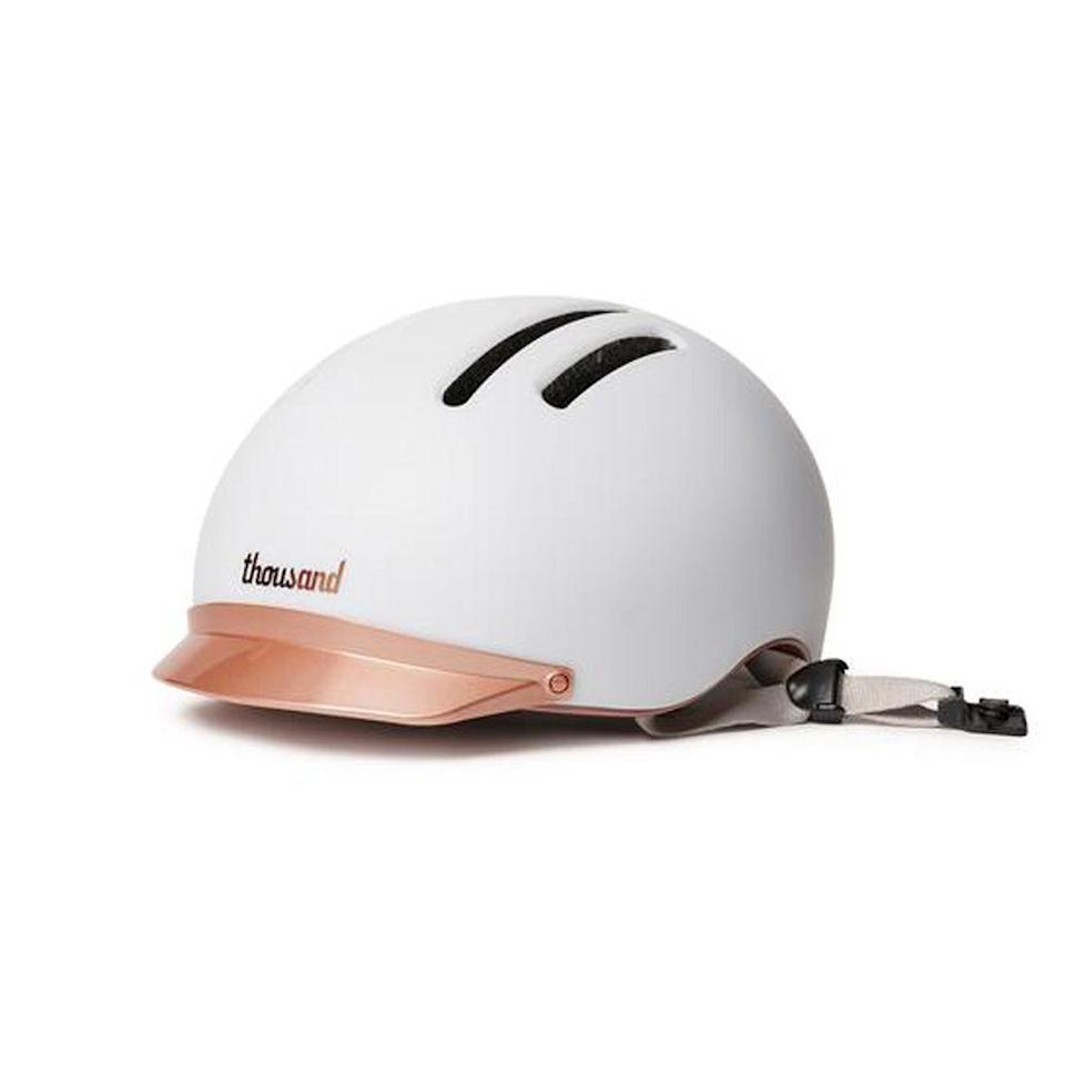 """<p>explorethousand.com</p><p><strong>$135.00</strong></p><p><a href=""""https://www.explorethousand.com/products/mips-helmet?color=supermoon-white"""" rel=""""nofollow noopener"""" target=""""_blank"""" data-ylk=""""slk:BUY IT HERE"""" class=""""link rapid-noclick-resp"""">BUY IT HERE</a></p><p>Is she one of those people that picked up bike riding during quarantine? If so, get her a stylish helmet—because you're her brother and you care about her safety—that won't ruin her hair. This one comes with a visor and lights up at night for even more protection.</p>"""