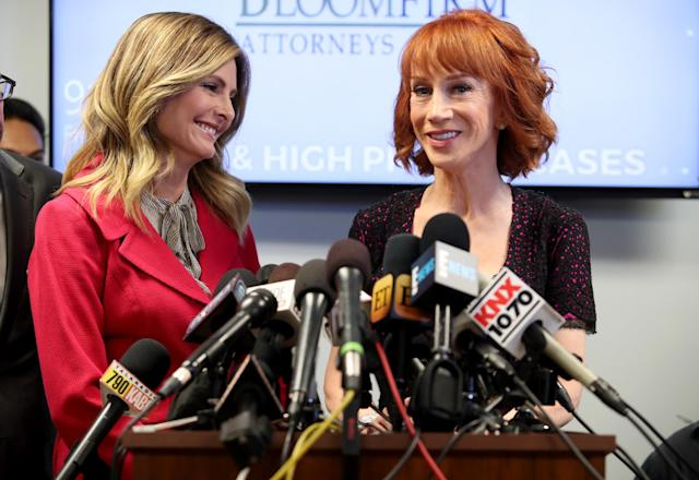 Lawyer Lisa Bloom has represented high-level clients like Kathy Griffin. (Photo: Getty Images)