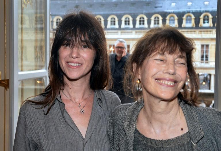 Charlotte Gainsbourg (left) is premiering an intimate documentary about her mother Jane Birkin at Cannes