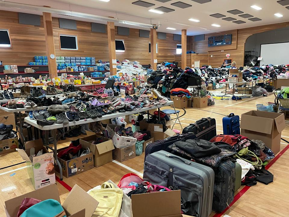 People have made huge donations to those affected by wildfires (Ashleigh Stewart)