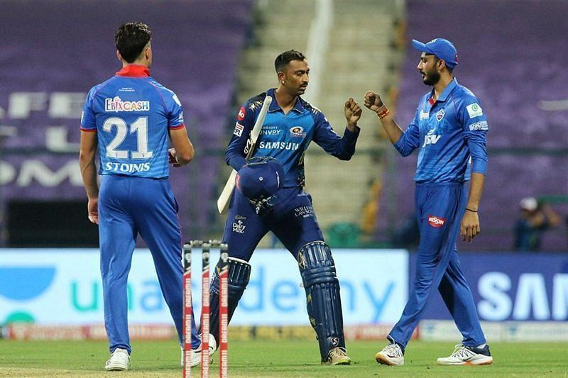 Can the Mumbai Indians complete a double over the Delhi Capitals in IPL 2020? (Image Credits: IPLT20.com)