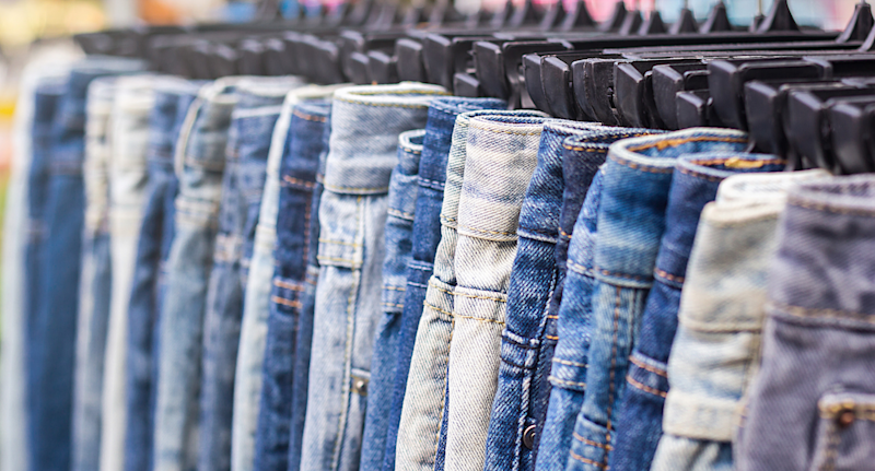 Fall's biggest denim trends will have you bidding farewell to your skinny jeans (Getty Images)