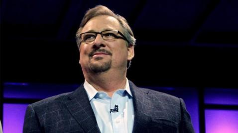 ap rick warren ll 130412 wblog Rick Warren Says Late Son Got Illegal Gun on Internet