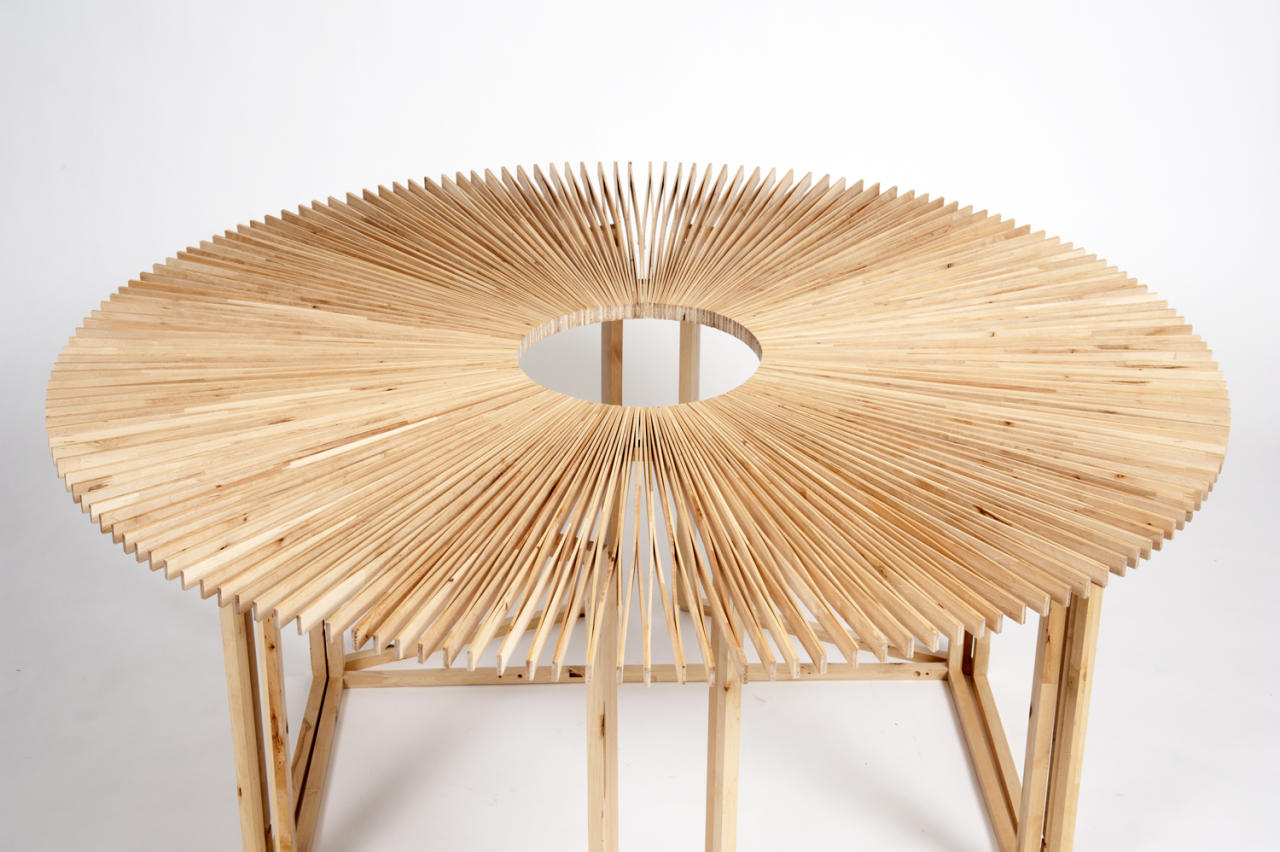 FAN Table and other designs by Mauricio Affonso table main shot