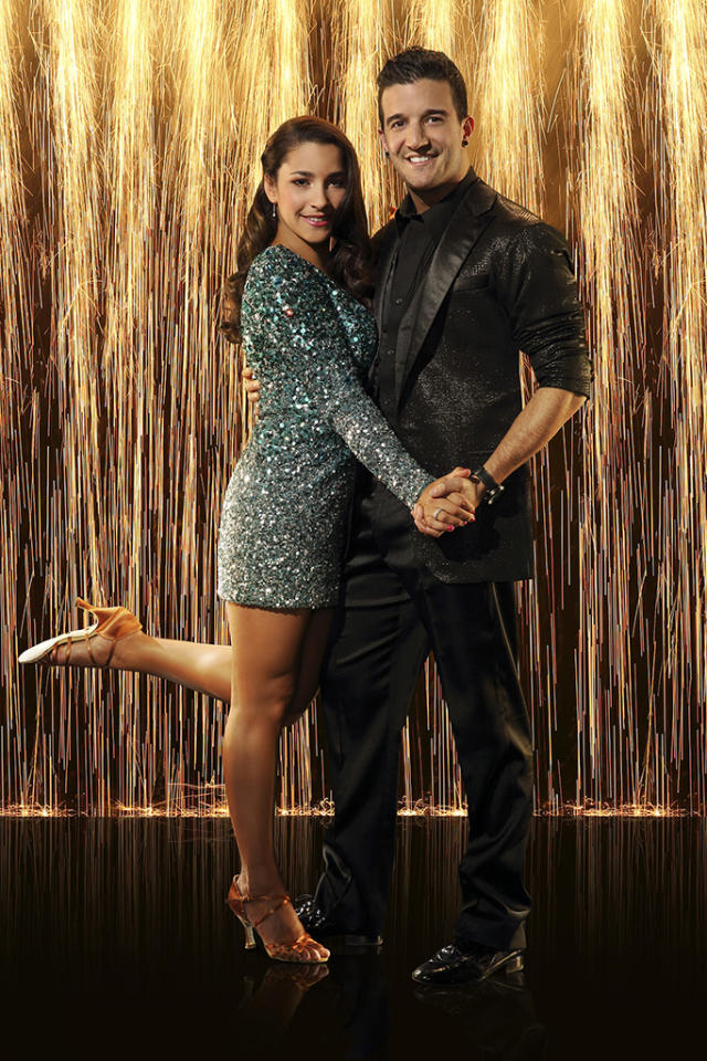 "Gold medalist Alexandra Raisman partners with Mark Ballas on ""Dancing With the Stars"" Season 16, premiering March 18 on ABC."