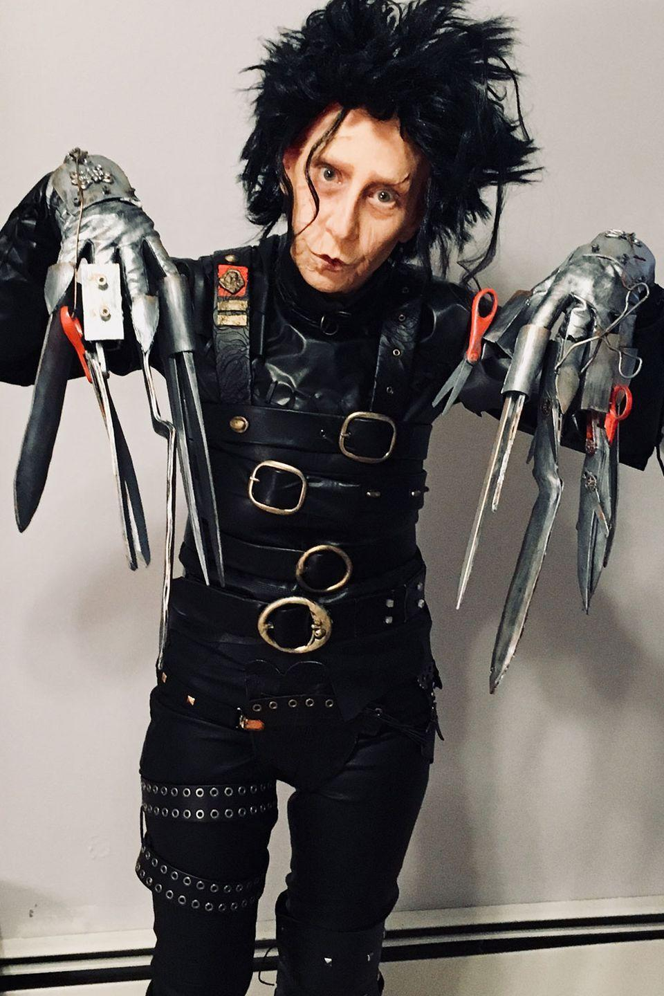 "<p>Whenever they do the inevitable remake/reboot of <em><a href=""https://www.amazon.com/Rubies-Heritage-Edward-Scissorhands-Costume/dp/B003O869V4?tag=syn-yahoo-20&ascsubtag=%5Bartid%7C10055.g.23653854%5Bsrc%7Cyahoo-us"" rel=""nofollow noopener"" target=""_blank"" data-ylk=""slk:Edward Scissorhands"" class=""link rapid-noclick-resp"">Edward Scissorhands</a></em>, this woman needs to do the effects makeup.</p>"