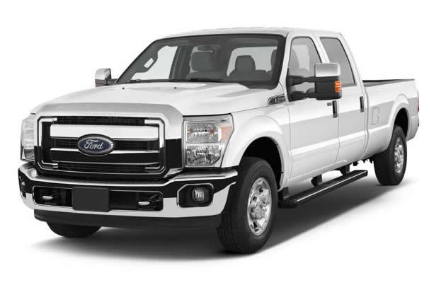 Ford F-250 crew 4WD (Photo: Yahoo Autos)