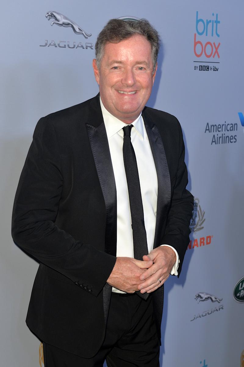 BEVERLY HILLS, CALIFORNIA - OCTOBER 25: Piers Morgan attends 2019 British Academy Britannia Awards presented by American Airlines and Jaguar Land Rover at The Beverly Hilton Hotel on October 25, 2019 in Beverly Hills, California. (Photo by Jerod Harris/FilmMagic)