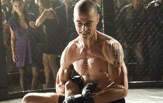 Lost star Matthew Fox looked almost unrecognisable after he lost 44 lbs for his role in film Alex Ross. [Copyright Entertainment News]