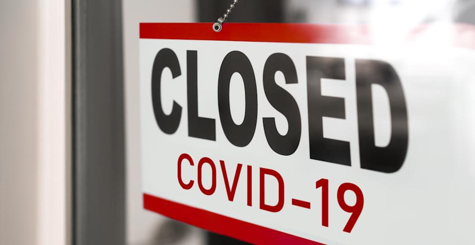 Hundreds of thousands of small businesses were forced to close down permanently during the pandemic. Credit: Getty.