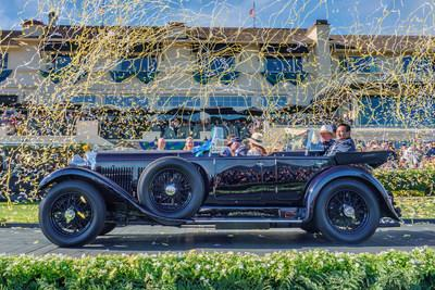 This 1931 Bentley 8 Litre Gurney Nutting Sports Tourer, owned by The Hon. Michael Kadoorie of Hong Kong, was named Best of Show at the 2019 Pebble Beach Concours d'Elegance.