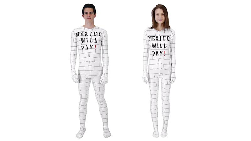 "There's a ""Border Wall"" Costume and It's Infuriating"