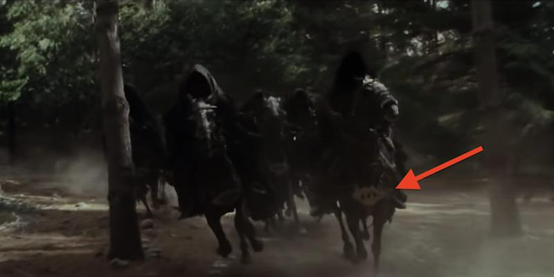 Ringwraiths Nazgul horses The Lord of the Rings The Fellowship of the Ring New Line Cinema