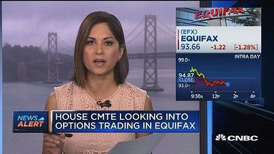CNBC's Aditi Roy reports on the House Finance Committee is looking into options trading in Equifax stock.