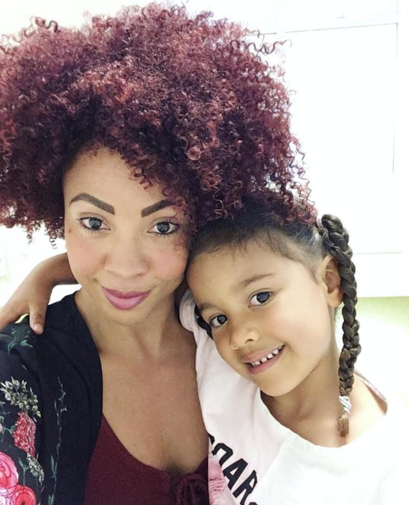 Natasha Gilson with her daughter Anaïs. [Photo: SWNS]