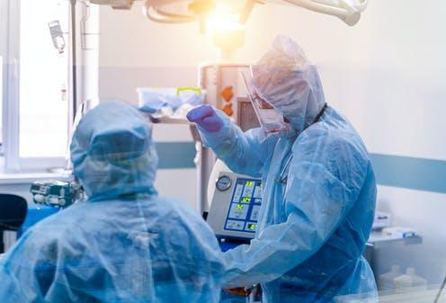 Almost half of NHS critical care staff show symptoms of ...