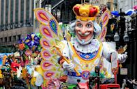 """<p>In addition to paying a membership fee, krewe members dish out major cash for beads, <a href=""""https://www.countryliving.com/diy-crafts/g4571/diy-halloween-costumes-for-women/"""" rel=""""nofollow noopener"""" target=""""_blank"""" data-ylk=""""slk:costumes"""" class=""""link rapid-noclick-resp"""">costumes</a>, security, clean-up crews, and Mardi Gras balls year after year. Luckily, many krewes allow members to take a break for a year, as long as they send a friend to ride (and pay) in their place. </p>"""