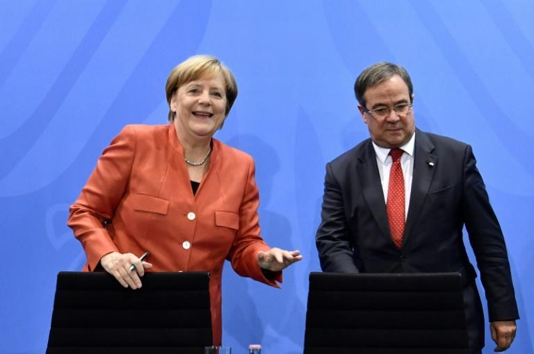 Armin Laschet is a long-time ally of German Chancellor Angela Merkel