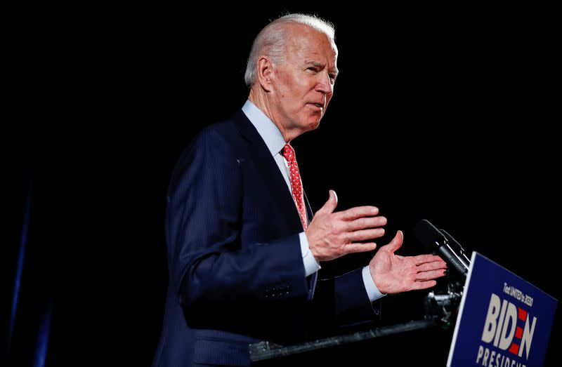 United Auto Workers union endorses Biden for president