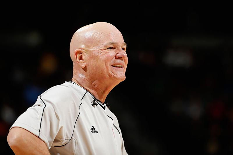 Back in 2007, the incident that led to Joey Crawford's indefinite suspension seemed like the low point of his career. Now, he credits the moment with saving it. (Getty)