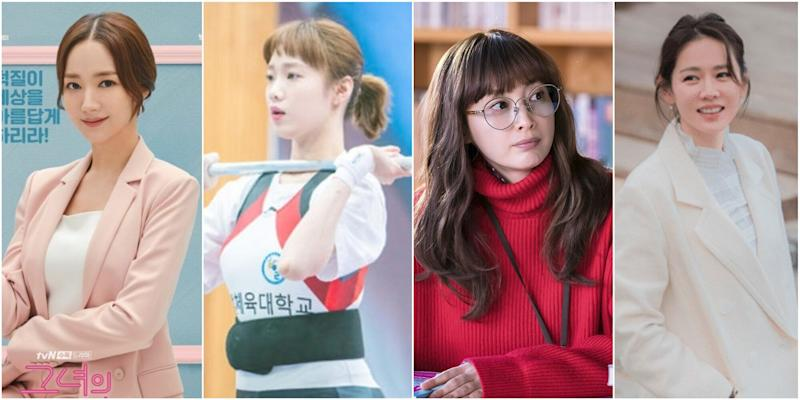 (L-R) Her Private Life, Weightlifting Fairy Kim Bok Joo, Romance Is A Bonus Book, Something In The Rain (Photo: Stills)