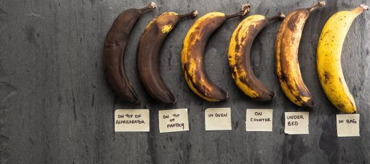 how to make bananas ripen exactly when you want them. Black Bedroom Furniture Sets. Home Design Ideas