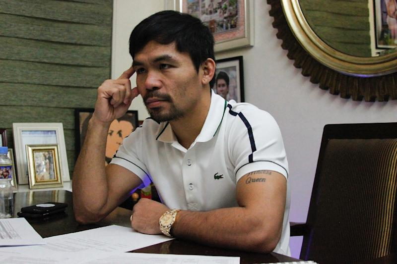 Pacquiao pulls no punches on 'death' for drug traffickers