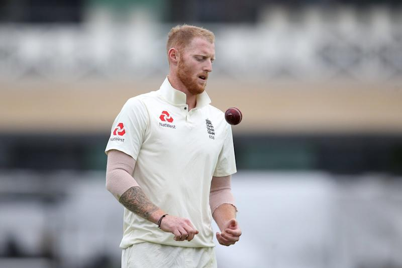 Pain game: Ben Stokes suffers at Trent Bridge on Sunday as he fails to make an impact with the ball after replacing Sam Curran: PA
