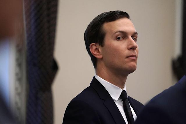Senior White House adviser and Trump son-in-law Jared Kushner. (Photo: Alex Wong/Getty Images)
