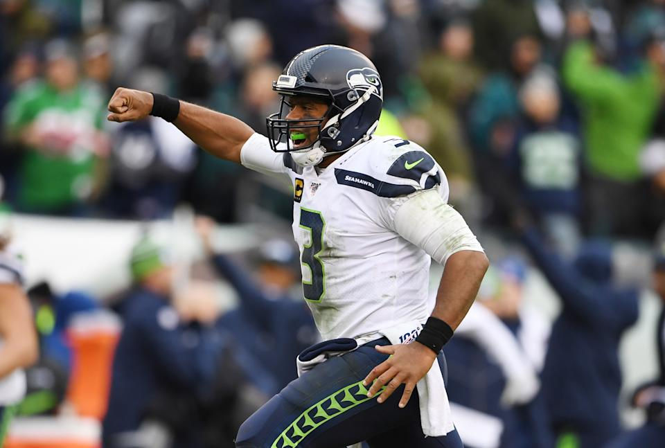 Russell Wilson was an early front-runner for MVP in 2020. (James Lang/USA TODAY Sports)