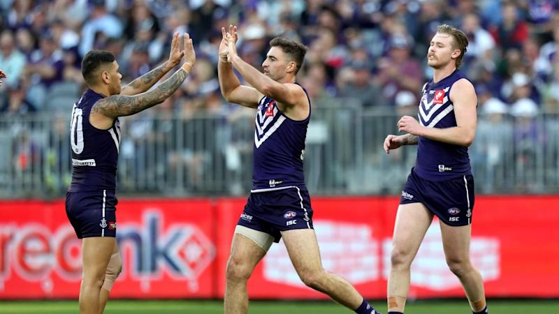 AFL DOCKERS BLUES