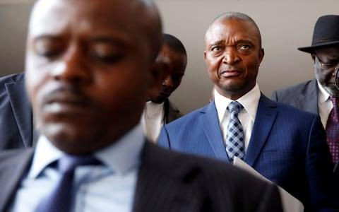 Emmanuel Ramazani Shadary, Former Congolese Interior Minister and presidential candidate - Credit: Reuters