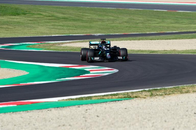 Hamilton on Tuscan Grand Prix pole, Mercedes lock out front row