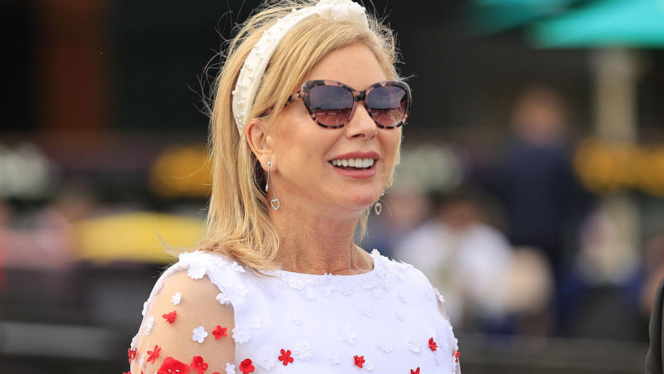 Kim Waugh, pictured here during Sydney Racing at Royal Randwick in 2020.
