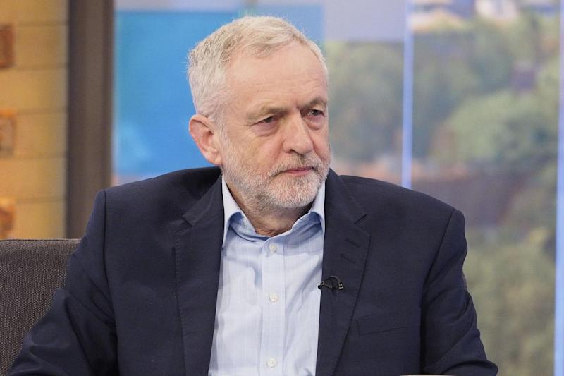 Criticism: Jeremy Corbyn called for a broader anti-terror approach: Rex Features