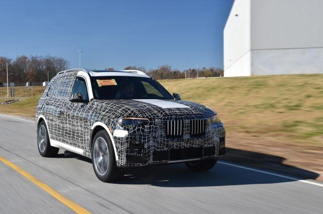 BMW Kicks Off Pre-Production of the X7