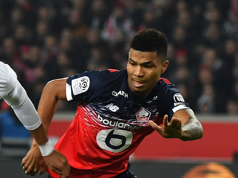 Boubakary Soumare could leave Lille in the coming days (AFP via Getty)