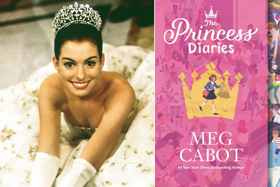 """<p>Whether on the page or on screen, we want to be best friends with Princess Mia Thermopolis of Genovia. What can we say? She's funny; she ends up in swoony romances; and oh yeah, she's a freaking princess! In both the book and the film, Mia is a geeky 16-year-old who finds her life upended with the revelation that she is the princess of a small European principality. The film offers a winning early-career <a href=""""https://ew.com/tag/anne-hathaway/"""" rel=""""nofollow noopener"""" target=""""_blank"""" data-ylk=""""slk:Anne Hathaway"""" class=""""link rapid-noclick-resp"""">Anne Hathaway</a> opposite the always elegant <a href=""""https://ew.com/tag/julie-andrews/"""" rel=""""nofollow noopener"""" target=""""_blank"""" data-ylk=""""slk:Julie Andrews"""" class=""""link rapid-noclick-resp"""">Julie Andrews</a> as her grandmother. The book's grandmere is more callous than charismatic, but with it comes the laugh-out-loud humor of Mia's diary entries. Both page and screen offer the crowning jewel of great storytelling — plenty of heart. They're a truly regal Genovian pair.</p>"""