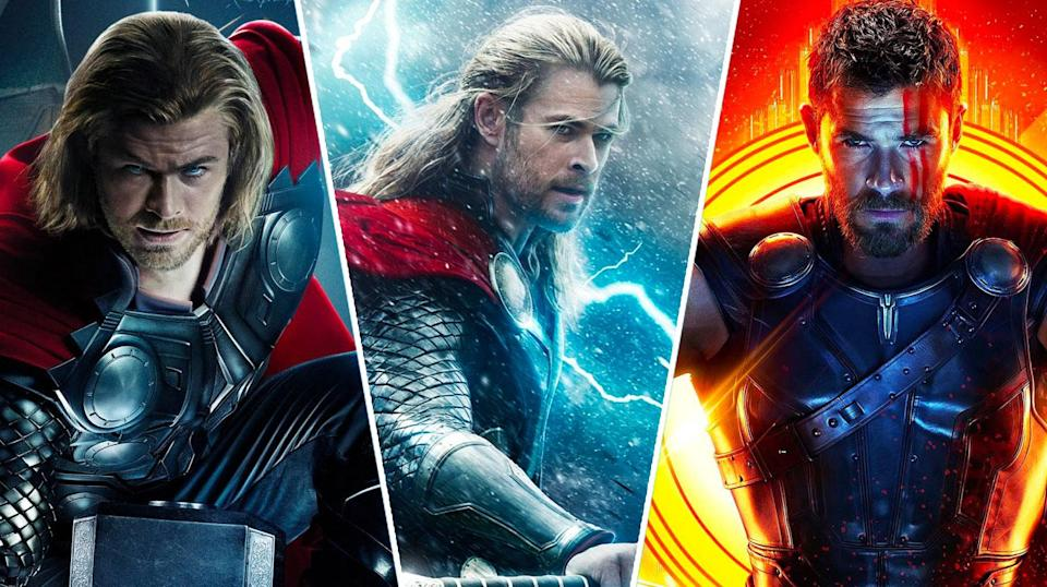 Chris Hemsworth's Thor trilogy has its ups and downs (Disney)