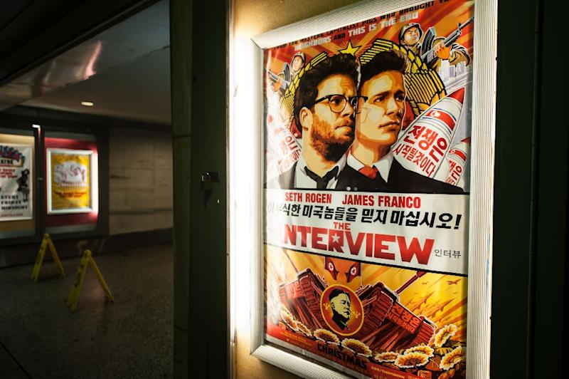 """Sony data was released online after hackers threatened the company over the release of """"The Interview,"""" which depicts a fictional CIA plot to kill North Korea's leader"""