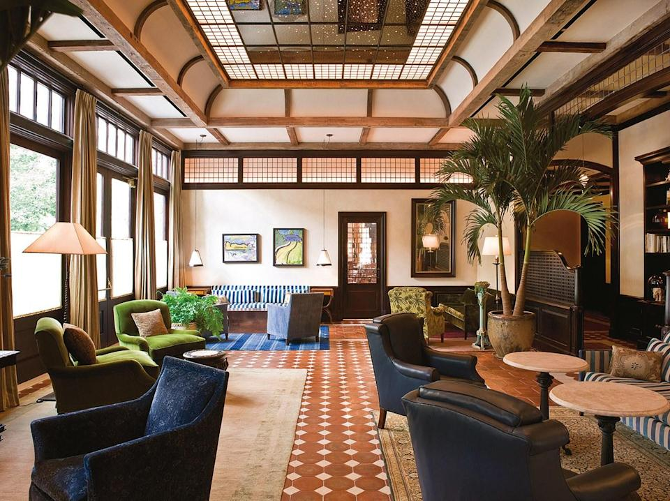 <p><strong>How did it strike you on arrival?</strong><br> This is a hotel that defines restrained opulence. There are Tibetan silk rugs, hand-laid Moroccan tiles, Italian Carrara marble, English leather settees—and it all seems casually thrown together in the most perfect way, at once cozy and grand. And deeply personal, with every room individually designed, so it feels as far away from a big luxury chain as you could get.</p> <p><strong>What's the crowd like?</strong><br> Celebrities who don't want to be noticed, fashion people who care about aesthetics but don't want a scene, and people who consider good design very important in choosing a hotel.</p> <p><strong>Most importantly: Tell us about your room.</strong><br> The Courtyard Room (the lowest category) has wide wood-plank floors, hand-carved wooden bed frames, threadbare Oriental rugs, leather sofas, and French doors that open onto a courtyard view—meaning rooms here feel incredibly homey, but sophisticated, like a studio apartment that was decorated by your most stylish friend.</p> <p><strong>We're craving some deep, restorative sleep. They got us?</strong><br> The beds are by Savoir, the famed London-based brand that first created the Savoy Bed back in 1905, and it's one of the perks of staying here.</p> <p><strong>How about the little things, like mini bar, or shower goodies. Any of that worth a mention?</strong><br> Jars of mini candy bars are a cute touch, as well as the Red Flower bathroom products. I'd roll up one of the antique rugs and take it with me if I could.</p> <p><strong>Please tell us the bathroom won't let us down.</strong><br> Bathrooms aren't super modern, but still luxurious, with lots of marble, plush robes and towels, and killer products from Red Flower (they smell amazing).</p> <p><strong>We all need Wi-Fi, so what's the word on that?</strong><br> Wi-Fi is strong and free.</p> <p><strong>Anything stand out about other services and features?</strong><br> The Shibui Spa at the hotel just