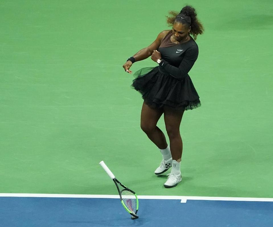 The caricature of Williams, a 23-time Grand Slam champion, attracted widespread global condemnation (AFP Photo/kena betancur)