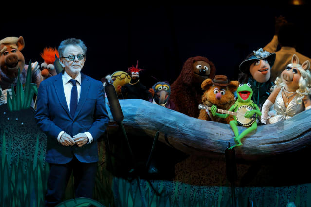 Paul Williams and the Muppets at the Hollywood Bowl. (Photo: Mathew Imaging)