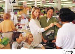 Using credit card in a store